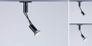Serien Lighting One-Eighty monopoint (black, white and Brushed steel)
